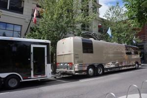 Bus in Portland